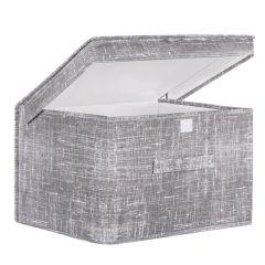 Úložný box 40x30x25 cm SPRINGOS HA3045 šedý