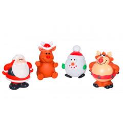 Karlie Vánoční hračky vinylové pro psy 12cm