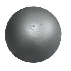 Koule atletická ZÁVODNÍ 6 kg SEDCO soustružená stříbrná - 6 kg