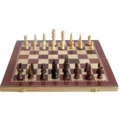 Šachy Sedco dřevěné 96 C02 černo/bílé 29x29 cm