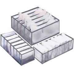 Organizéry do zásuvky sada 3ks šedé SPRINGOS HA3115