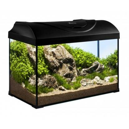Akvárium set STARTUP 50 LED EXPERT rovný 37,5l DIVERSA, černá