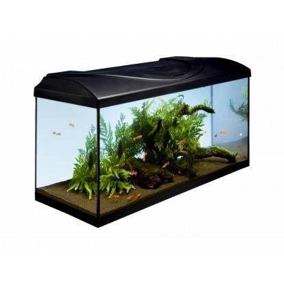 Akvárium set STARTUP 80 LED EXPERT rovný 112l DIVERSA, černá