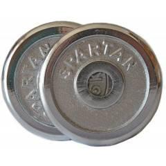 Sada závaží 2*0,5 kg CHROM SPARTAN, osa 30 mm