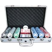 Poker set SPARTAN 300 s označením hodnot