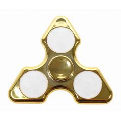 LED Fidget Spinner SPARTAN DIAMOND zlatý