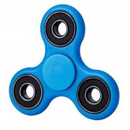 Fluorescentní Fidget Spinner FS04 modrý