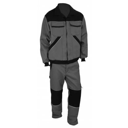Pracovní komplet MAXIM 740R šedo-černý
