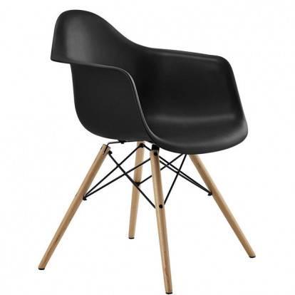 Designová židle SPRINGOS ARIANA černá