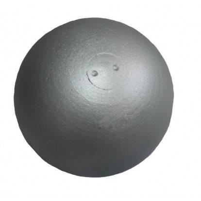 Koule atletická Sedco TRAINING 3 kg dovažovaná litá stříbrná