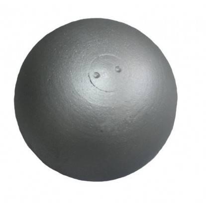 Koule atletická TRAINING 7,26 kg dovažovaná stříbrná SEDCO
