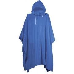 Pláštěnka PONCHO PVC silná modrá