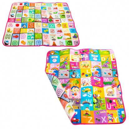 Dětský hrací koberec PÍSMENKA 180X150 cm