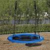 Zahradní houpačka SPRINGOS ČAPÍ HNÍZDO 90 cm modrá