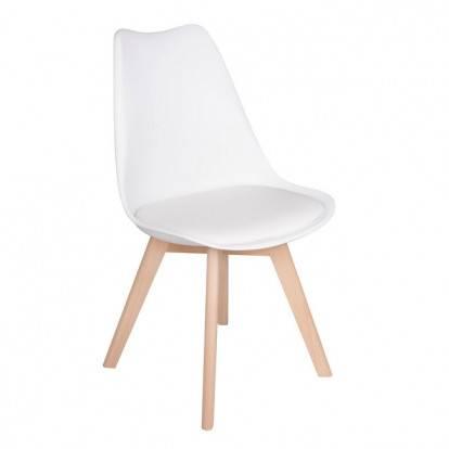 Designová židle SPRINGOS EIFFEL béžová