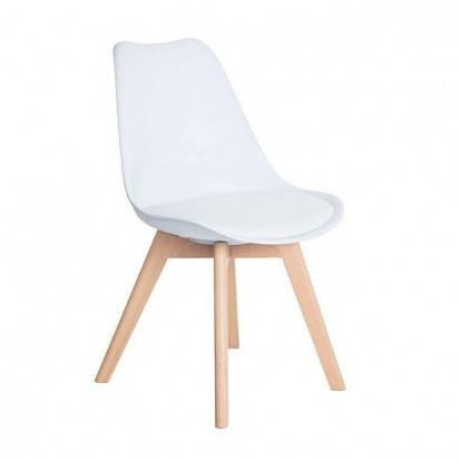 Designová židle SPRINGOS EIFFEL bílá