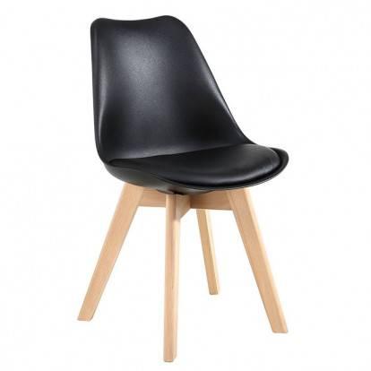 Designová židle SPRINGOS EIFFEL černá