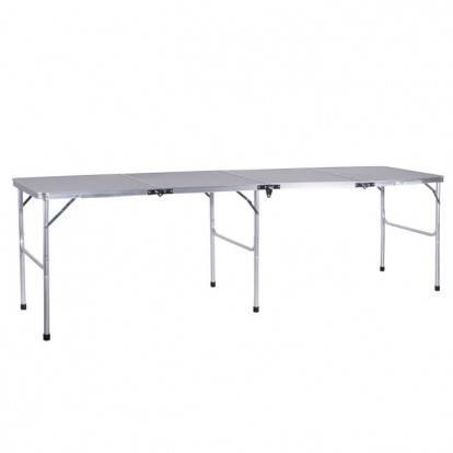 Skládací kempingový stůl SPRINGOS MAXIM 240x60x70 cm