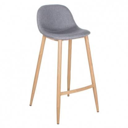 Barová židle SPRINGOS MODERN šedá