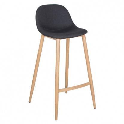 Barová židle SPRINGOS MODERN černá