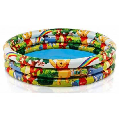 Nafukovací dětský bazén Intex 58915 medvídek pú 147x33 cm