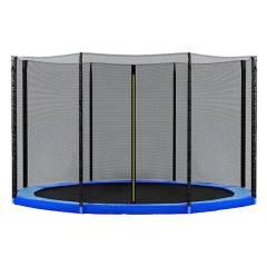 Ochranná síť SPRINGOS na trampolínu 275 cm (9 ft) / 8 tyčí