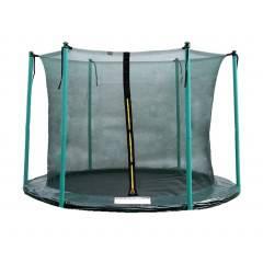 Vnitřní ochranná síť SPRINGOS na trampolínu 305 cm (10 ft) / 6 tyčí zelená