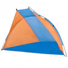 Plážový stan SPRINGOS KLAUD modrý/oranžový