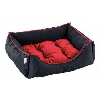 Pelíšek pro psa / kočku Siesta, černo-červený DIVERSA
