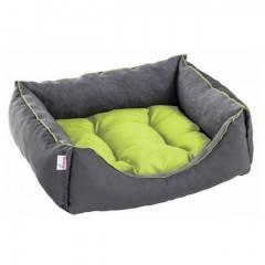 Pelíšek pro psa / kočku Siesta, šedo-zelený DIVERSA