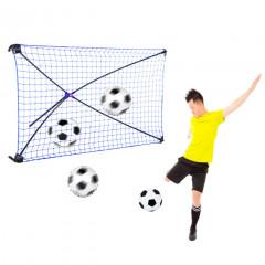 Fotbalový trenažér NET PLAYZ KICKBACK REBOUNDER 153x92x124 cm