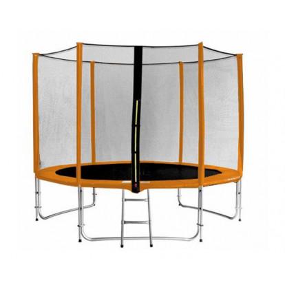 Trampolína SEDCO ECO 244 cm + síť a žebřík v ceně oranžová