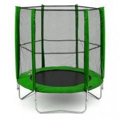 Trampolína SEDCO ECO 244 cm + síť a žebřík v ceně zelená