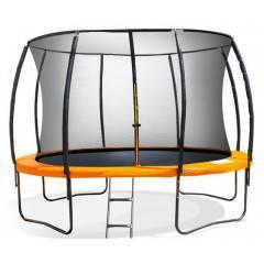Trampolína SEDCO SUPER LUX SET 396 cm + síť a žebřík oranžová