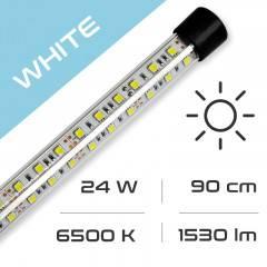 LED osvětlení do akvária GLASS WHITE 24W, 90 cm, 6500K AQUASTEL