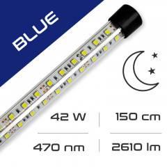LED osvětlení do akvária GLASS BLUE 42W, 150 cm AQUASTEL