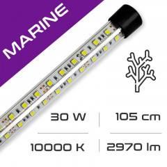 LED osvětlení do akvária GLASS MARINE 30W, 105 cm, 10000K AQUASTEL
