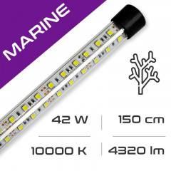 LED osvětlení do akvária GLASS MARINE 42W, 150 cm, 10000K AQUASTEL