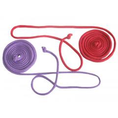 Gymnastické švihadlo 3,1 m Sedco červené
