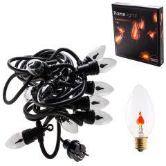 Světelný řetěz Flame - 3,6m, teplá bílá