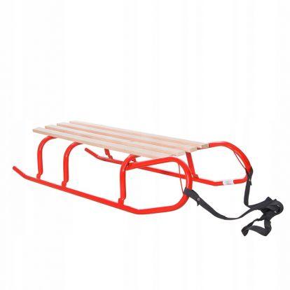 Sáňky 100 cm SPRINGOS RIDER červené