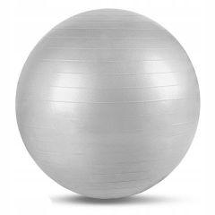 Gymnastický míč 75 cm SPRINGOS FIT stříbrný