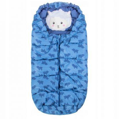 Zimní fusak 4v1 SPRINGOS COMBI modrý
