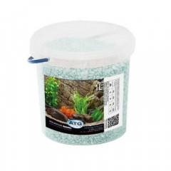 Akvarijní štěrk Semperit šedo-modrý, zrnitost 1,8 - 3 mm, 1l
