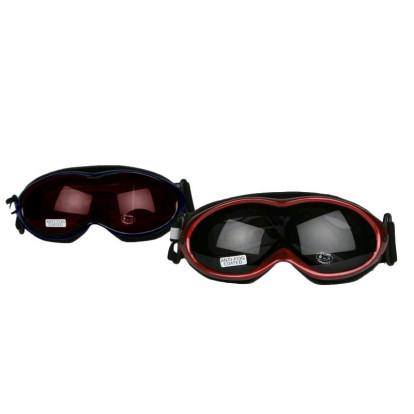 Brýle lyžařské TOP FRANCE NL92 červené