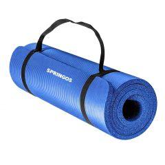 Podložka na cvičení 180x60x1,5 cm SPRINGOS JOGA modrá