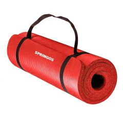 Podložka na cvičení 180x60x1,5 cm SPRINGOS JOGA červená