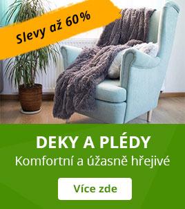 Chlupaté deky a plédy